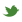 Twitter icon footer